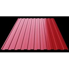 Профильный лист С-8 (0,45) красный